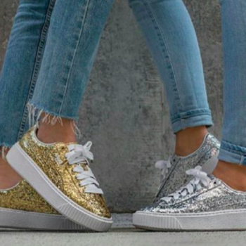 Puma's glittery new shoes are going to replace all your sparkly stilettos
