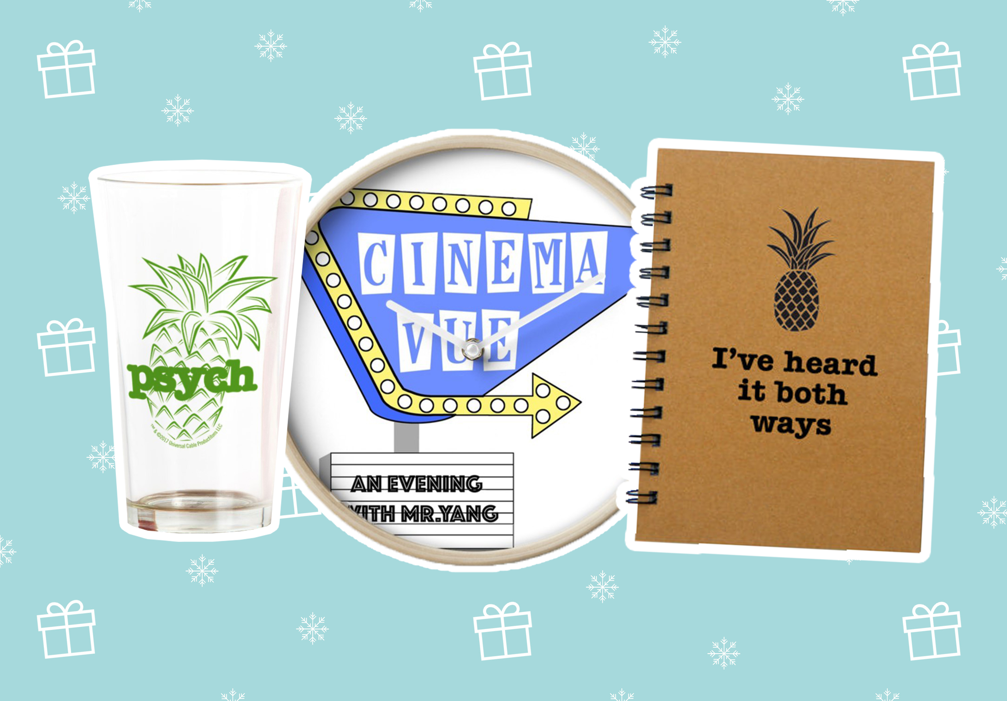 "17 perfect pineapple-y gifts for the ""Psych"" fans in your life"