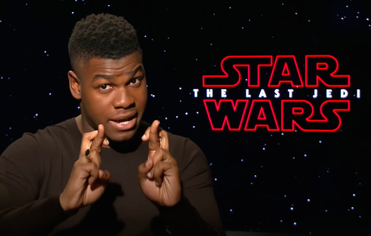 John Boyega is *begging* us to give up on this one Rey theory