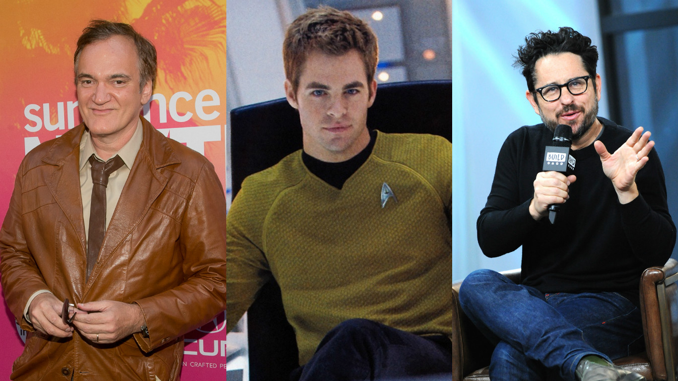 """J.J. Abrams and Quentin Tarantino might make a """"Star Trek"""" movie together, and this sounds highly logical"""
