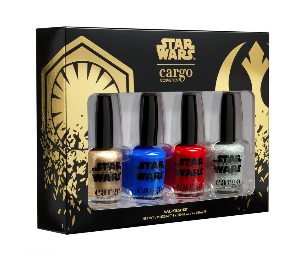 """Cargo Cosmetics joined forces with """"Star Wars"""" on a nail polish kit that rules the galaxy"""