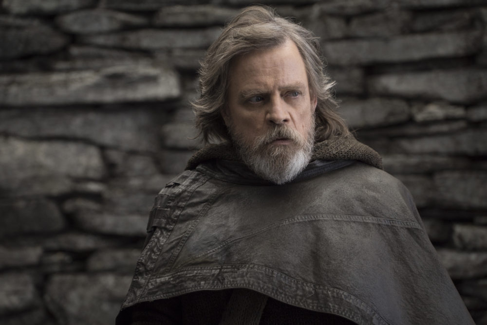 "Surprise, Mark Hamill actually played two characters in ""The Last Jedi"""