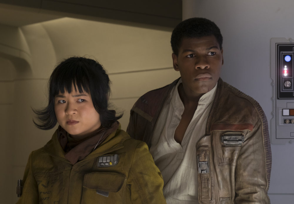 "John Boyega gave Kelly Marie Tran some interesting fitness advice on the set of ""The Last Jedi"""