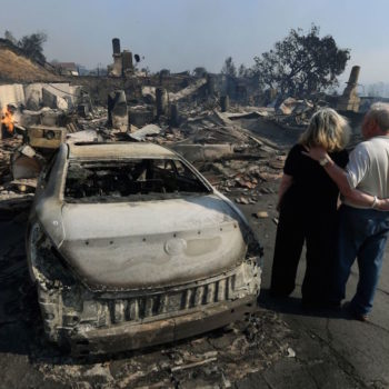 Here's how many people have been forced to evacuate because of the California wildfires