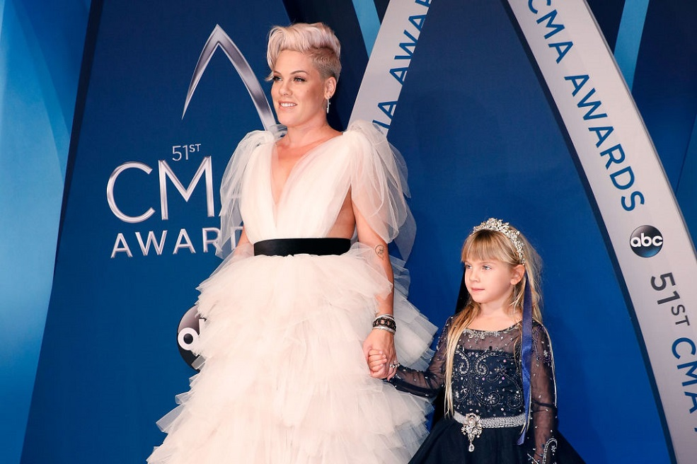 Pink is already dishing out relationship advice to her daughter Willow