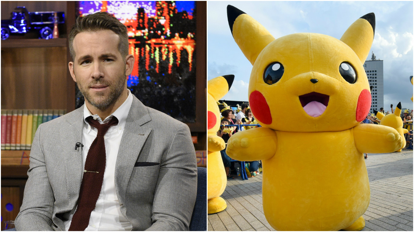 Ryan Reynolds will play Pikachu in the live-action Pokémon movie, and wow, I wish I was making this up