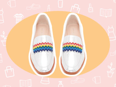 WANT/NEED: Rainbow loafers that'll make you want to do a happy dance, and more stuff you want to buy