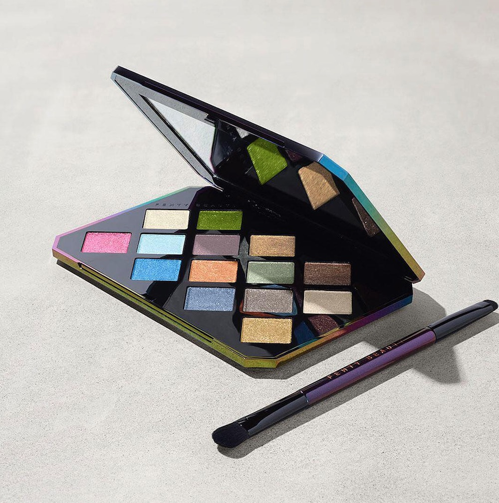 Hot tip: Fenty Beauty's glitter-filled eyeshadow palette is on sale at Sephora