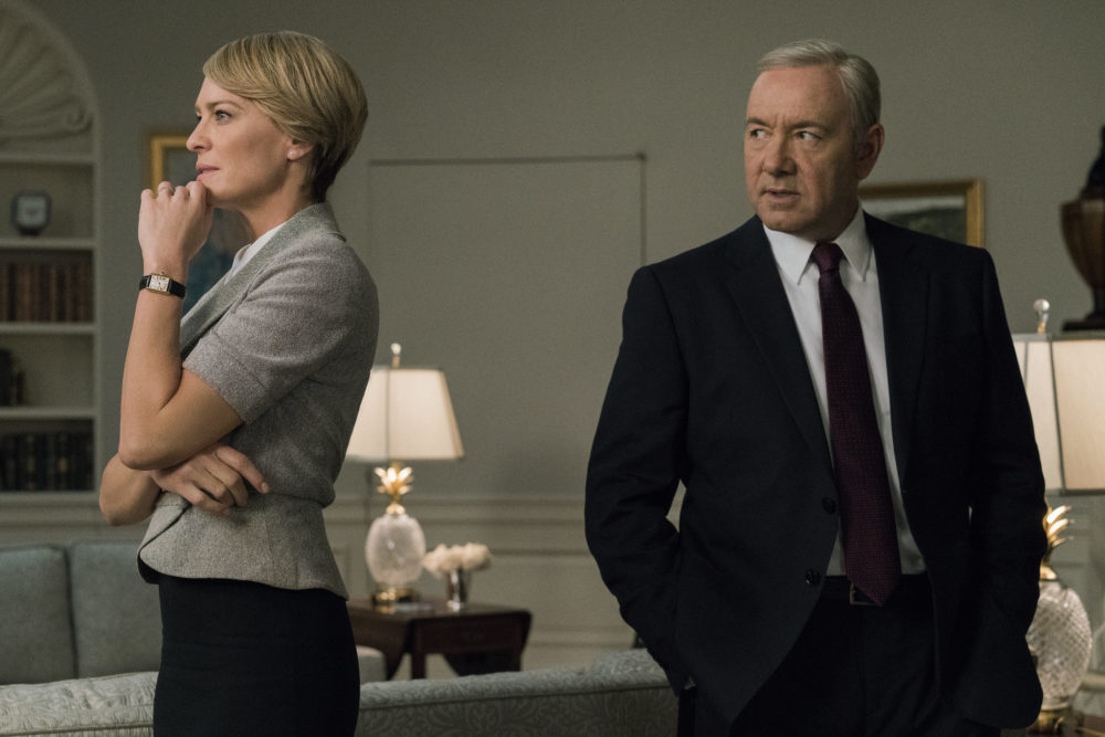 """House of Cards"" is literally scrapping two episodes that feature Kevin Spacey for Season 6"