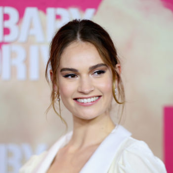 "Lily James was intimidated AF to play a young Meryl Streep in the ""Mamma Mia!"" sequel"