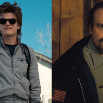 "Joe Keery has the best idea ever for ""Stranger Things"" Season 3, and it involves a Hopper and Steve dream team"