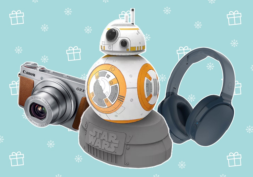 30 tech gifts for the person on your list who has to have the latest gadgets