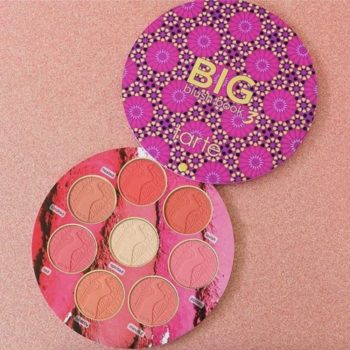 Tarte's Big Blush Book is almost the same price as one blush, but you're getting eight instead