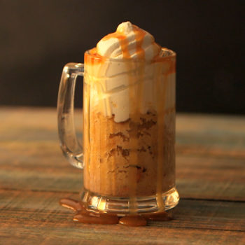 I solemnly swear you need this Butterbeer mug cake recipe right now