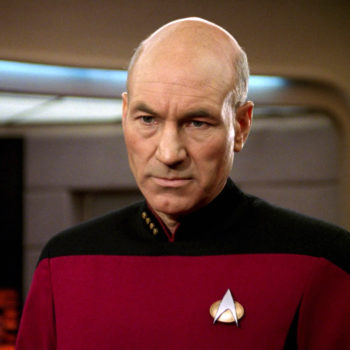 """Patrick Stewart would totally play Captain Picard in Quentin Tarantino's """"Star Trek"""", and please make it so"""