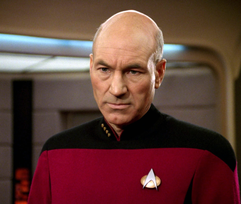 "Patrick Stewart would totally play Captain Picard in Quentin Tarantino's ""Star Trek"", and please make it so"