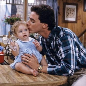 Bob Saget reunited with one of the Olsen twins, and our hearts are so full