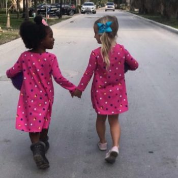 These preschool BFFs have such a strong bond, they swear that they're twins