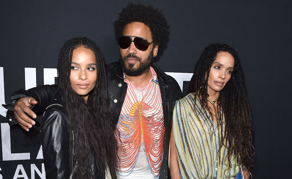 "People really want Zoë Kravitz's real life parents to play Bonnie's mom and dad in ""Big Little Lies"""