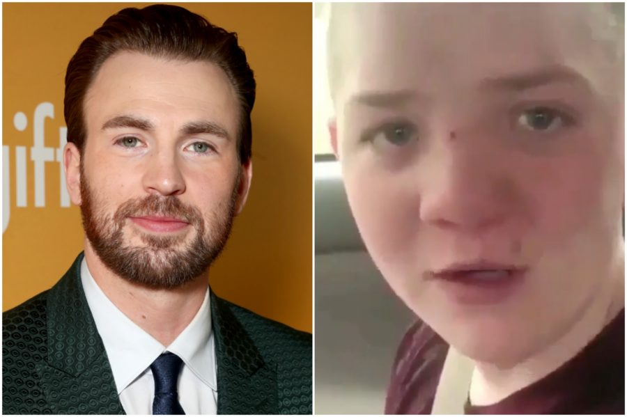 "Chris Evans invited bullied boy Keaton Jones to the ""Avengers: Infinity War"" premiere, is real-life Captain America"