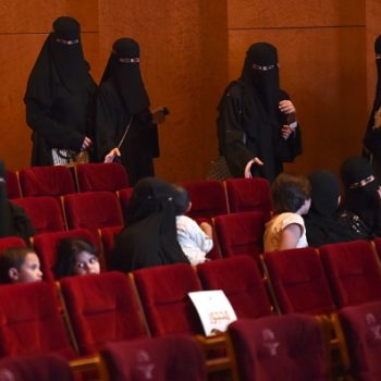 Saudi Arabia just lifted a ban on movie theaters for the first time in 35 years