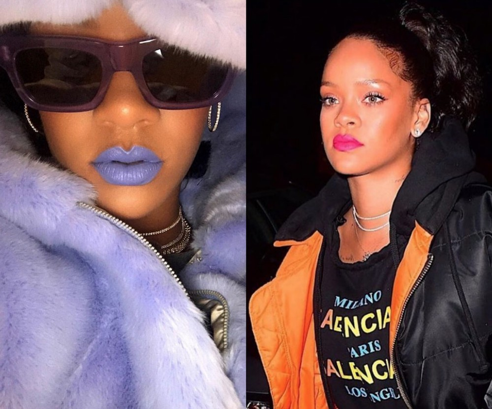 Rihanna teased two electrifying lipstick shades that might be Fenty Beauty's next launch