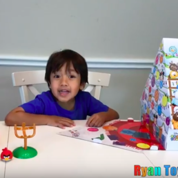A six-year-old made $11 million in one year reviewing toys on YouTube
