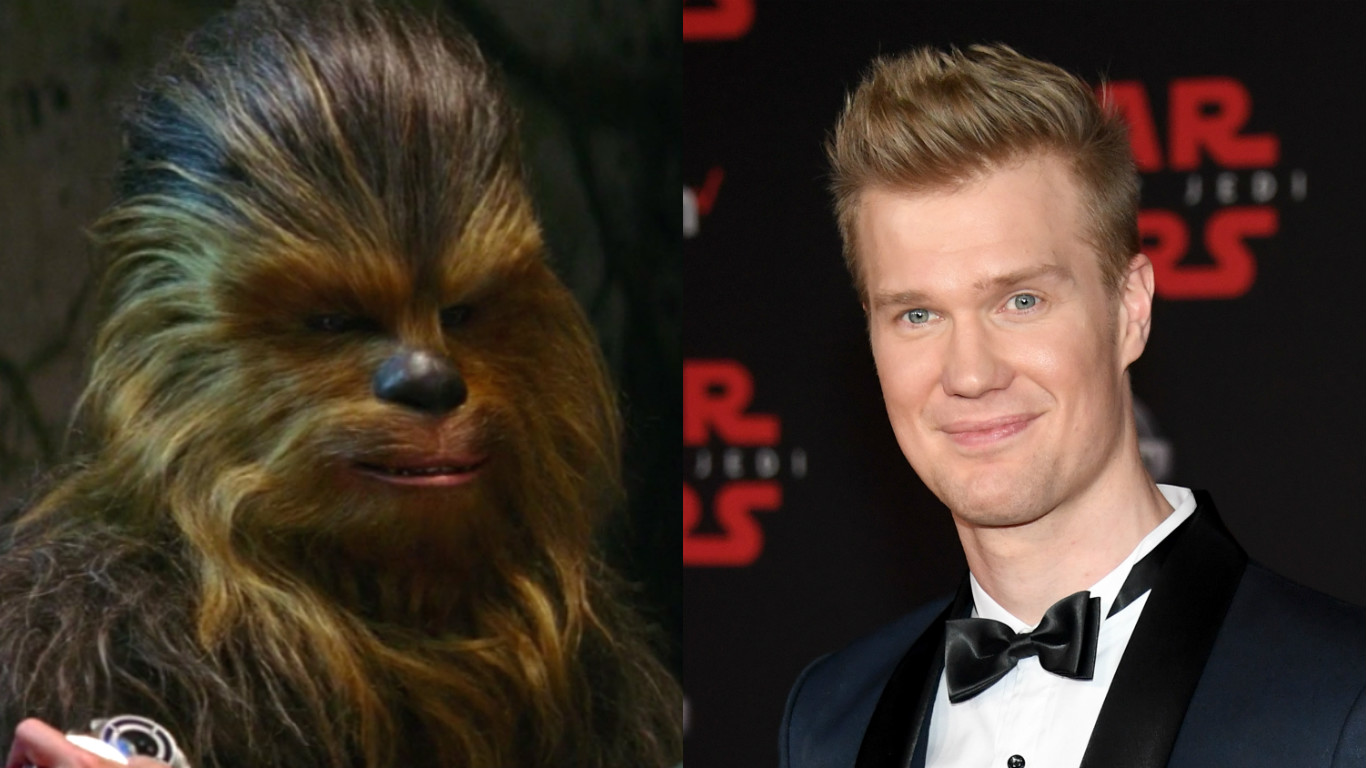 "It's time to talk about the fact that the new ""Star Wars"" actor for Chewbacca is a very attractive man"