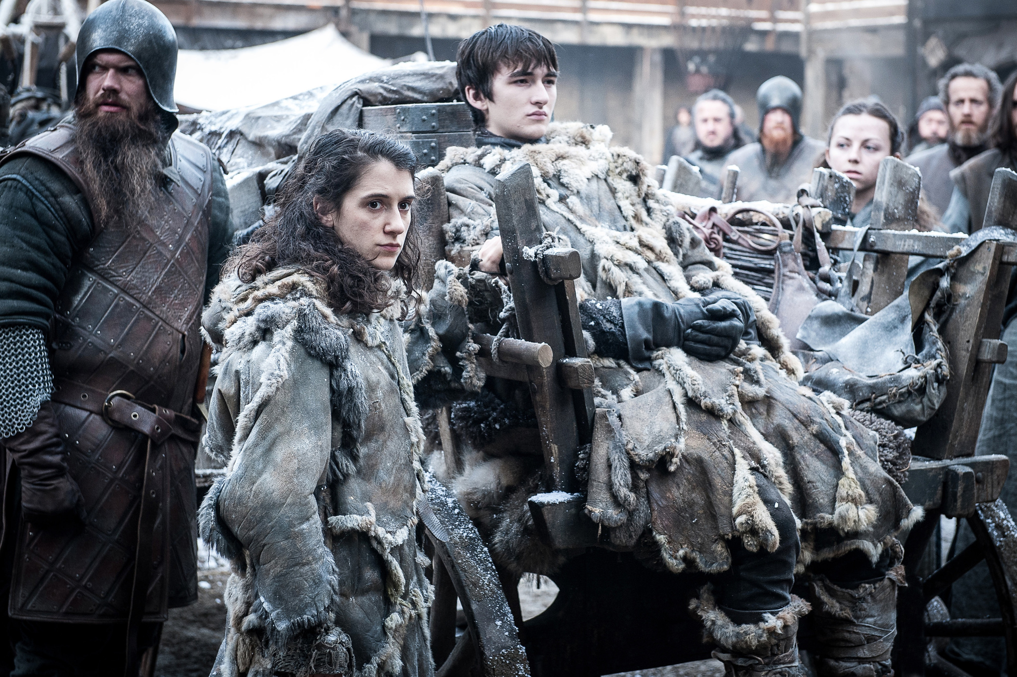 "Playing Bran in Season 7 of ""Game of Thrones"" was like becoming a brand new character for Isaac Hempstead Wright"