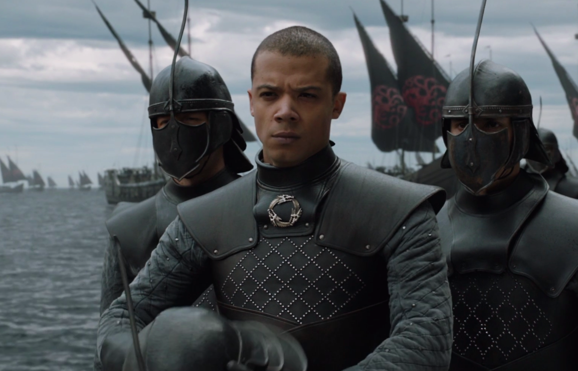 "According to Grey Worm, learning to smile during ""Game of Thrones"" was the hardest thing in Season 7"