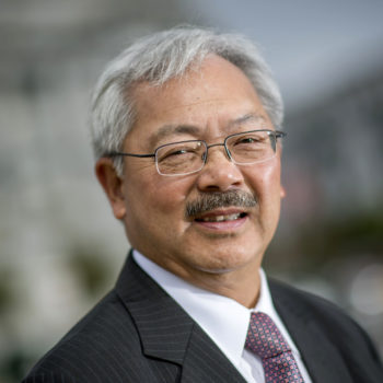Ed Lee, San Francisco's first Asian-American mayor, is survived by an extraordinary woman