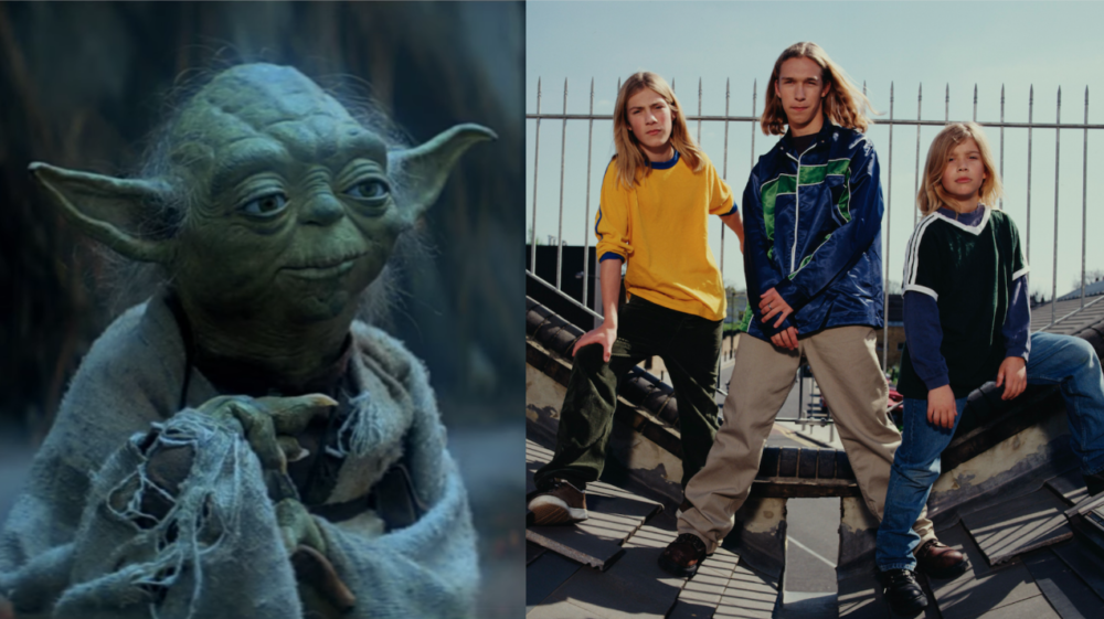 "Because you deserve it today, here's a video of ""Star Wars"" characters singing Hanson's ""MMMBop"""