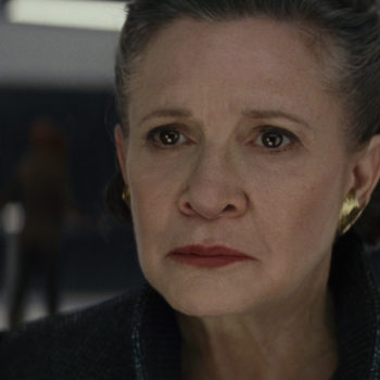 """The Last Jedi"" is dedicated to Carrie Fisher, so be sure and bring EXTRA tissues"