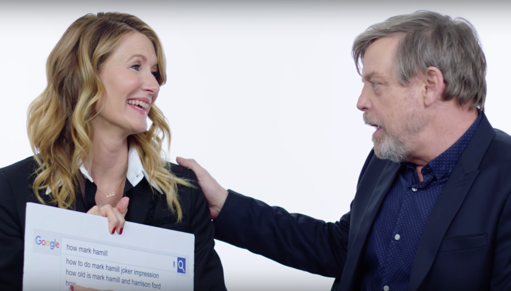 "The cast of ""Star Wars"" answered the most Googled questions about them, and things got weird around Jedi underwear"