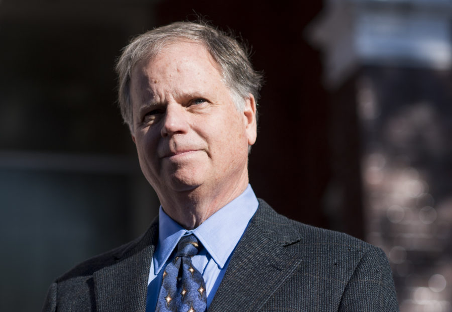 What has Doug Jones done to help minorities?