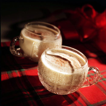 How to make eggnog with alcohol (for when you're feelin' extra festive)