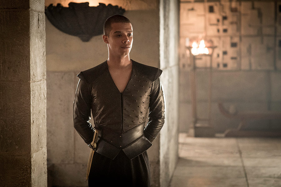 "When it comes to music, Jacob Anderson knows who he wants to collaborate with on ""Game of Thrones"""