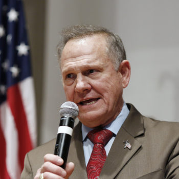 Roy Moore is refusing to concede, even though everyone agrees Doug Jones won