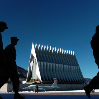 A former Air Force Academy official claims the academy has been covering up sexual assaults