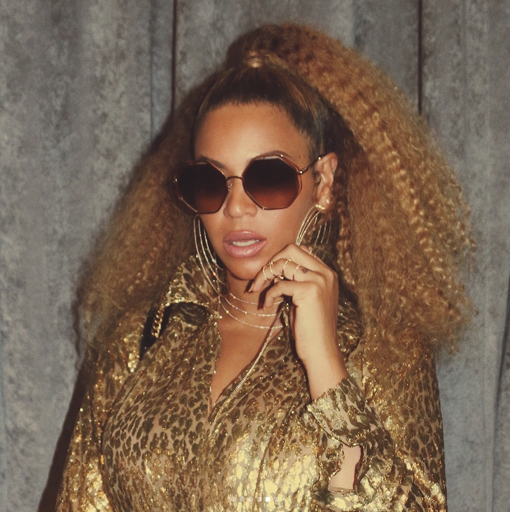 Beyoncé's all-gold ensemble is serving us Foxxy Cleopatra realness
