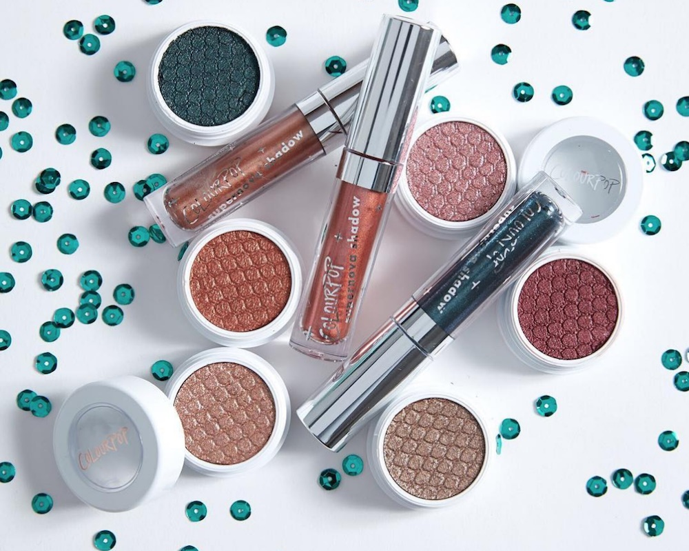 ColourPop's new festive eyeshadows will perfectly match your holiday outfits