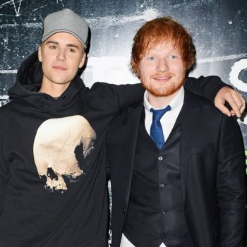 Justin Bieber filmed himself dancing alone to an Ed Sheeran song, and, we needed this