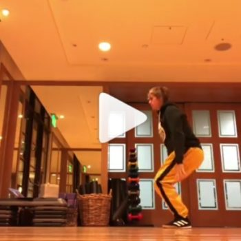Justin Bieber filmed himself dancing alone to an Ed Sheeran song, and we needed this
