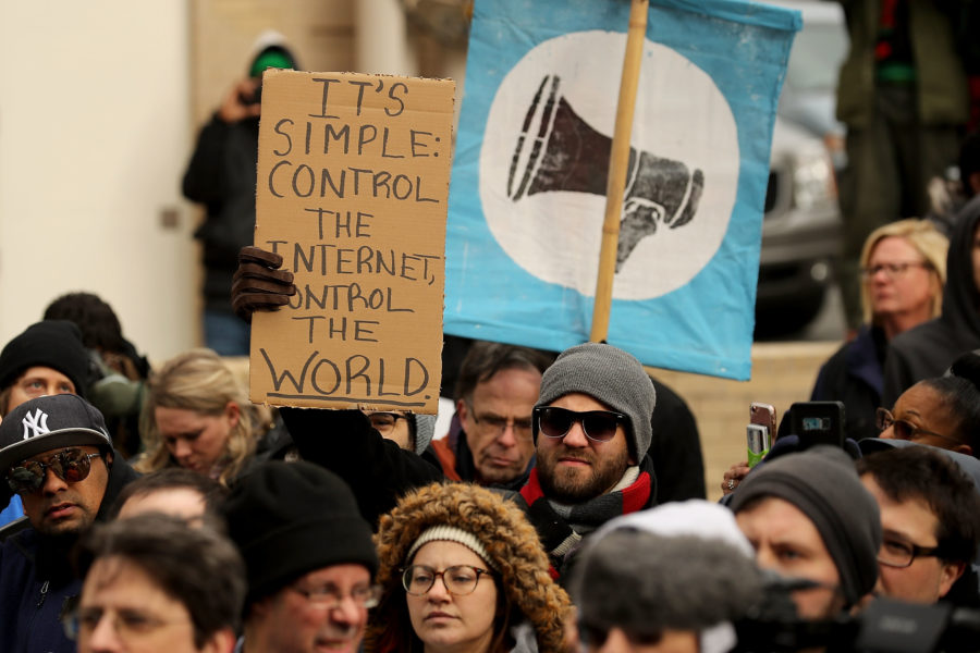 What time is today's net neutrality vote?