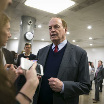 """Richard Shelby, Alabama's other Republican Senator, says he's """"relieved"""" Roy Moore lost"""