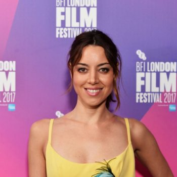 Aubrey Plaza shared her reaction after learning one of her roles was originally written for a middle-aged man