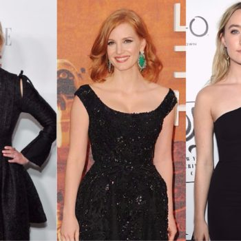 Actresses are going to wear all-black at this year's Golden Globes, and we love this solidarity