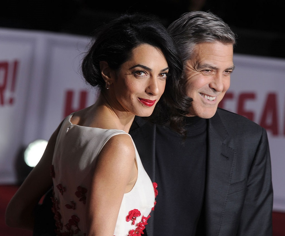 George and Amal Clooney gave a special gift to fellow ...
