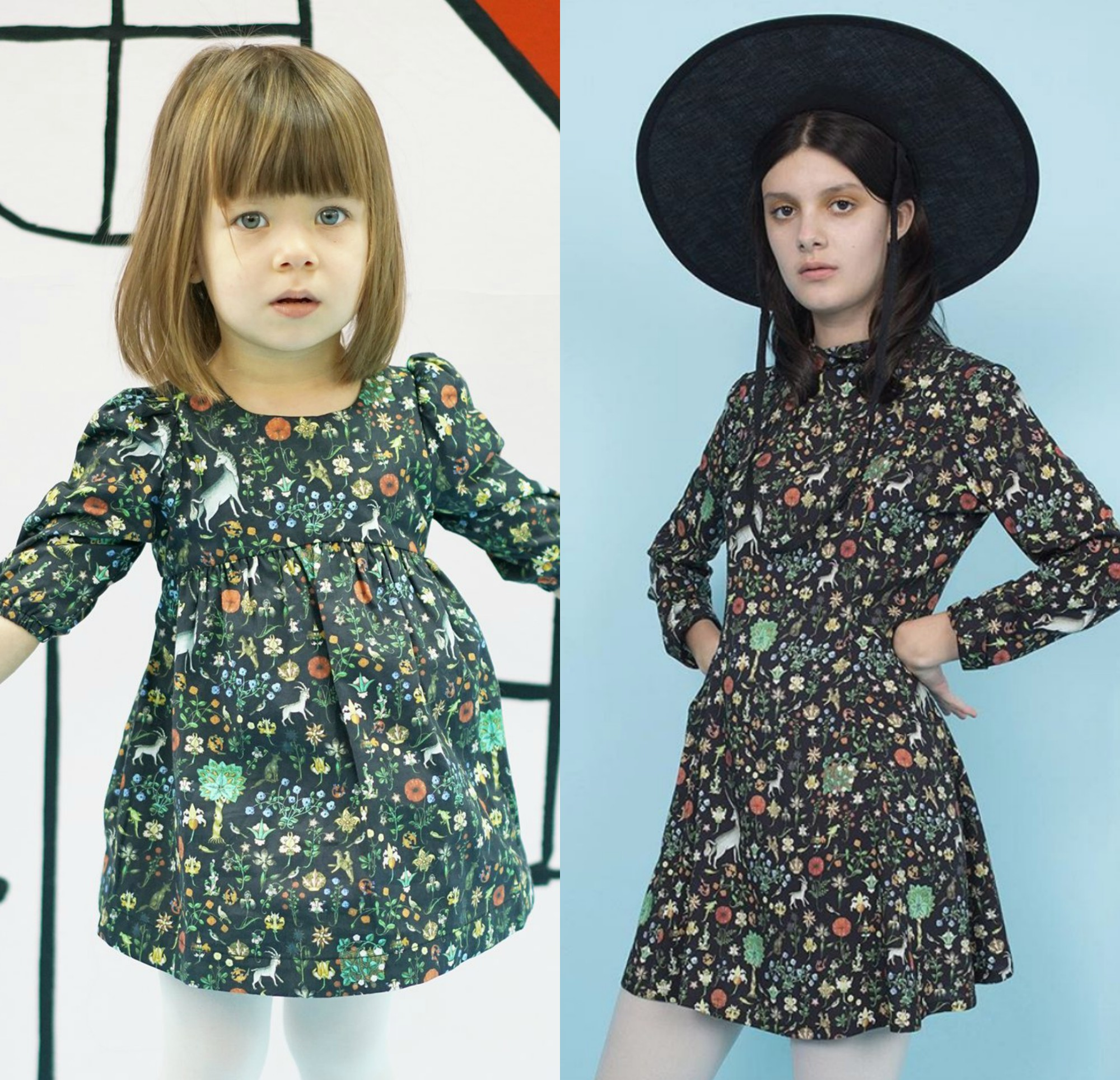 Samantha Pleet's new kid's line will let you be stylish twinsies with your mini-me
