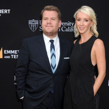 James Corden and his wife apparently had no idea she was in labor, and that's scary